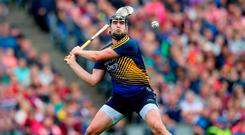 Challenge: Darren Gleeson, in goal for Tipperary, sees bright future for his Antrim team
