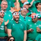 Irish fans could have a nervous wait on Sunday if their team don't pick up maximum points against Samoa.