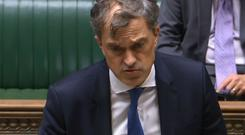 Julian Smith was speaking in the Commons on Monday.