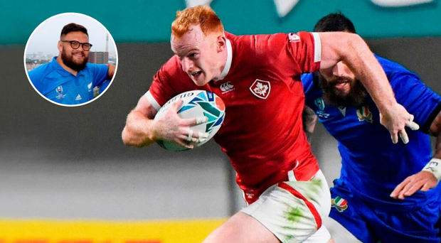 Incredibly, Peter Nelson won't be the only man with Dungannon links on the pitch when Canada face Angus Ta'avao (inset) and New Zealand on Wednesday.
