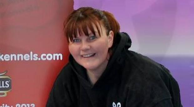 Public support: Louise Neill relies on donations to run Benvardin kennels