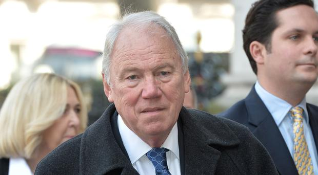 Peter Sissons (Anthony Delvin/PA)