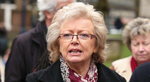Julie Hambleton, whose sister Maxine was killed in the bombings, said she hoped the group's visit to Ireland would 'make a mark' (Aaron Chown/PA)