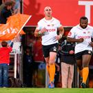 Back home: Former Ulster star in the colours of new team Toyota Cheetahs