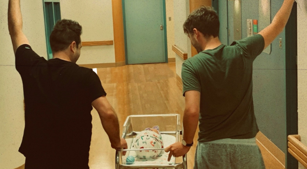 Hello My Love! Feehily shares baby joy Music