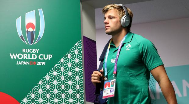 Ireland's Jordi Murphy could be heading for a swift exit from the Rugby World Cup.