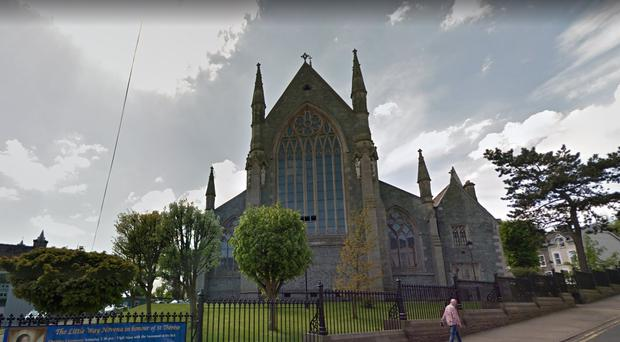 St Eugene's Cathedral in Londonderry. Credit: Google
