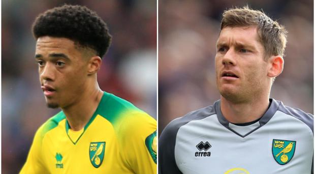Both Jamal Lewis and Michael McGovern are expected to start for Norwich on Saturday.