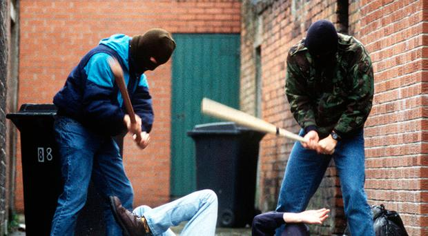 The number of paramilitary-style assaults in Northern Ireland is on the rise, official figures show (stock photo)