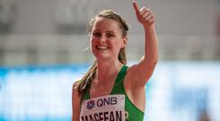 Ciara Mageean putting in a stunning performance in the World Championship final.