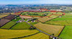 A 70 acre site for housing in Co Down has gone on the market with a guide price of £13.7m