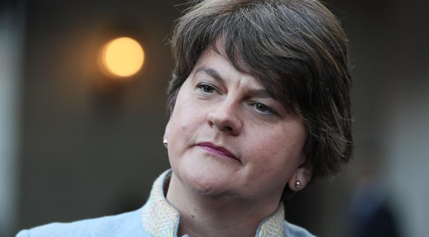 DUP leader Arlene Foster said Boris Johnson's Brexit proposals had 'flushed out' the real intentions of the EU (Brian Lawless/PA)