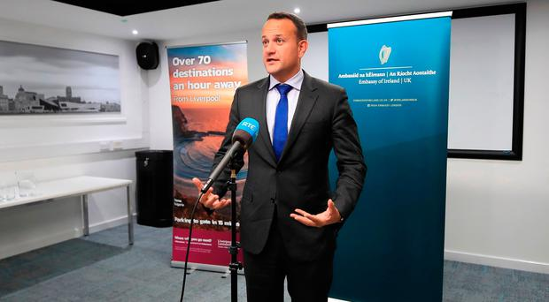 Deal hopes: Leo Varadkar
