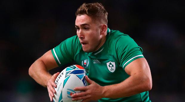 Jordan Larmour was Ireland's man of the match in the win over Samoa.