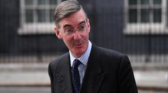 Leader of the Commons Jacob Rees-Mogg has urged Brexiteers to put their faith in Boris Johnson (Victoria Jones/PA)