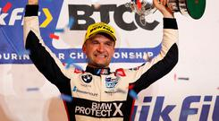 Resurrection man: Colin Turkington was 'dead and buried' but fought back to win fourth BTCC title