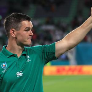 """Johnny Sexton, pictured, believes criticism of Ireland's World Cup campaign has been """"strange"""" (Adam Davy/PA)"""