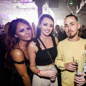 12 Oct 2019 People out at Limelight for AAA Saturdays (Liam McBurney/RAZORPIX)