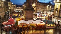 Newcastle Christmas markets