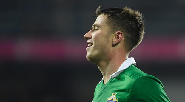 Paddy McNair scored twice for Northern Ireland in Prague.