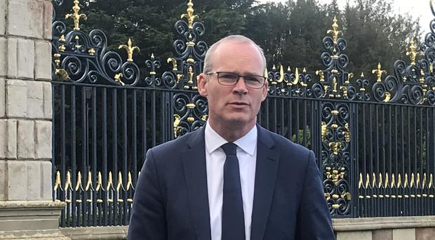 Simon Coveney remains hopeful that a Brexit deal can be reached before the crucial EU summit (Rebecca Black/PA)
