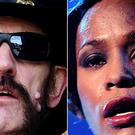 Motorhead's frontman Lemmy and Whitney Houston (Ian West/John Giles/PA)