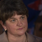DUP leader Arlene Foster at Westminster on Tuesday. Credit: BBC