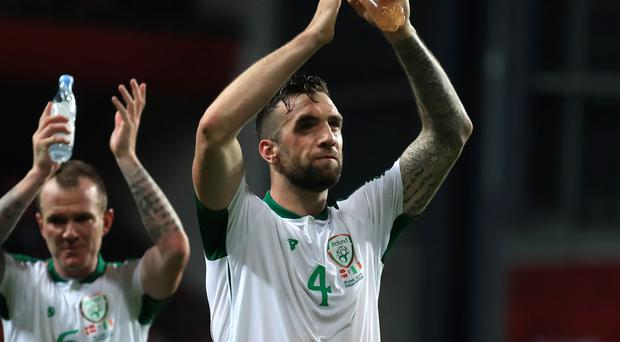 Republic of Ireland defender Shane Duffy is hoping for revenge against Denmark (Bradley Collyer/PA)