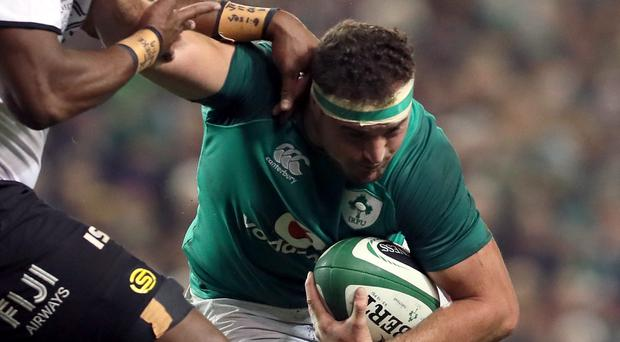 Rob Herring brought into Irish rugby squad for the injured Sean Cronin