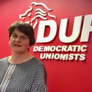 DUP leader Arlene Foster (David Young/PA)