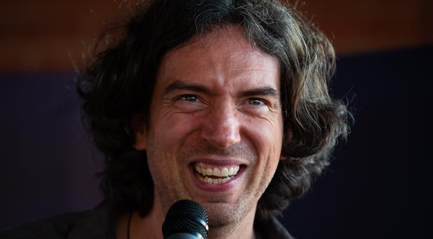 Snow Patrol frontman Gary Lightbody has been proposed to receive the freedom of his home borough in Northern Ireland (Aaron Chown/PA)