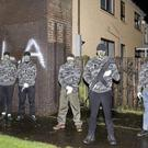 The PSNI made two arrests shortly after the photo was circulated on various platforms this week.