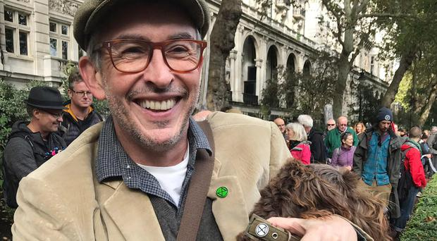 Steve Coogan said Extinction Rebellion (XR) is an important movement (Extinction Rebellion/PA)