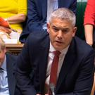 Brexit Minister Stephen Barclay locked horns with Nigel Dodds in the Commons