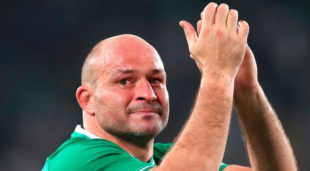 Rory Best's career came to an emotional end in Tokyo.