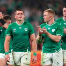 CJ Stander reacts to Ireland's World Cup exit at the hands of New Zealand.