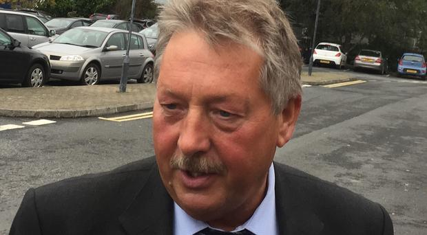 Sammy Wilson said his party is not backing a second Brexit referendum (PA)