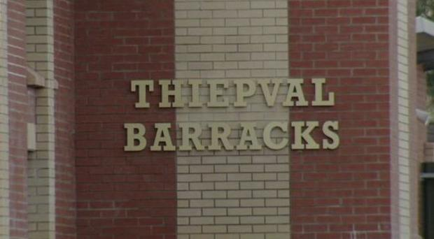 Thiepval Barracks in Lisburn. Credit: BBC