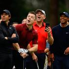 Rory McIlroy teamed up with Brian O'Driscoll during The Challenge Japan Skins to open the Zozo Championship week in Japan.