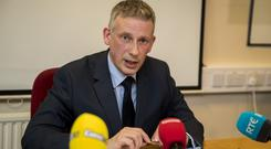 PSNI Detective Chief Superintendent Raymond Murray warned dissident Republicans could carry out more attacks in the wake of Brexit (Liam McBurney/PA)