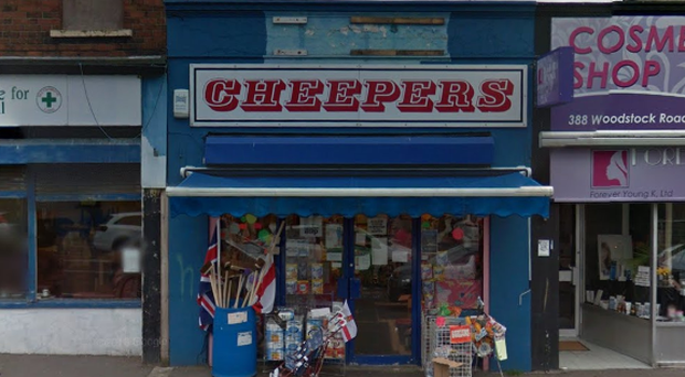 Cheepers on the Woodstock Road.