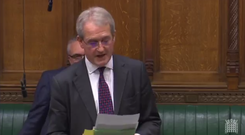 Owen Patterson speaking in the House of Commons
