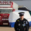 Police activity at the Waterglade Industrial Park in Grays, Essex (Aaron Chown/PA)