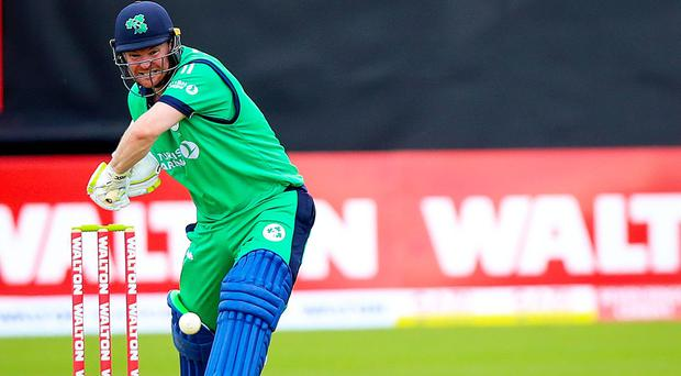 Paul Stirling scored 23 but was unable to prevent Ireland from falling to defeat (INPHO/Tommy Dickson)