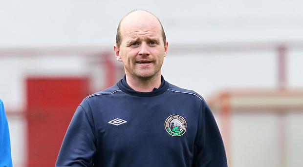 Barry Gray has his work cut out in his second spell as Warrenpoint manager.