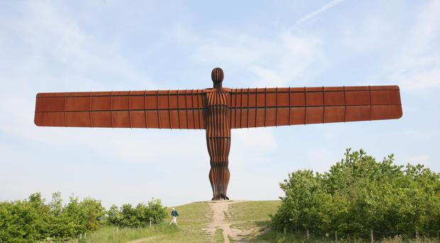 The Angel of the North, Gateshead (Peter Byrne/PA)