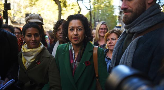 Samira Ahmed arrives at court on Monday (Kirsty O'Connor/PA)
