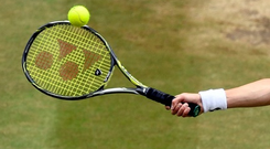 Raonic eventually took an opportunity in game six before then serving out the set in 32 minutes (stock photo)