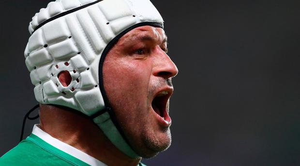 Rory Best will line-up for the Barbarians next month.