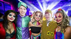 28 Oct 2019 People out at the Limelight for Screech Mondays Halloween Party. (Liam McBurney/RAZORPIX)